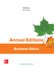 Annual Editions: Business Ethics
