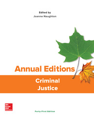 Annual Editions: Criminal Justice