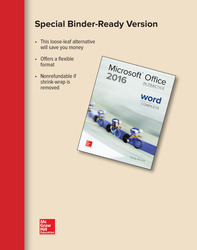 Looseleaf for Microsoft Office Word 2016 Complete: In Practice