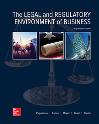 The Legal and Regulatory Environment of Business
