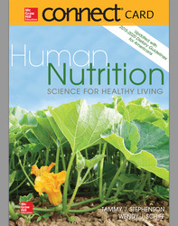 Connect Access Card for Human Nutrition: Science for Healthy Living Updated with 2015-2020 Dietary Guidelines for Americans