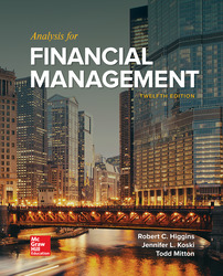 Analysis for Financial Management 12th Edition