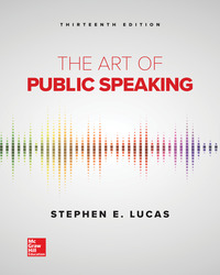 The Art of Public Speaking 13th Edition