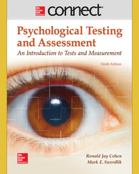 Connect Online Access for Psychological Testing and Assessment