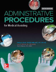 LSC POL (GENERAL USE) ADMINISTRATIVE PROCEDURES FOR MEDICAL ASSISTING WORKBOOK