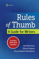 Rules of Thumb 9e MLA 2016 UPDATE