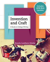Invention & Craft MLA 2016 UPDATE 1st Edition