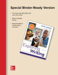 Looseleaf for Exploring Writing: Paragraphs and Essays MLA 2016 Update
