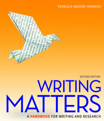 Writing Matters, Tabbed (Spiral Bound Edition) 2e with MLA Booklet 2016