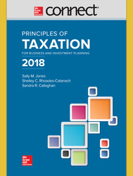 Connect Online Access for Principles of Taxation for Business and Investment Planning 2018 Edition