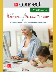 Connect Online Access for McGraw-Hill's Essentials of Federal Taxation 2018 Edition