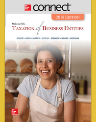 Connect Online Access for McGraw-Hill's Taxation of Business Entities 2018 Edition