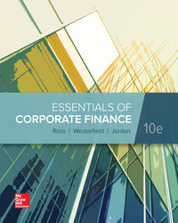 Essentials of Corporate Finance 10th Edition
