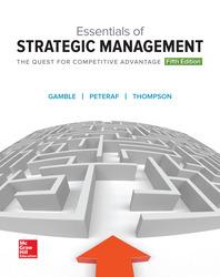 GEN COMBO ESSENTIALS OF STRATEGIC MANAGEMENT; CONNECT AC; BSG GLO-BUS AC