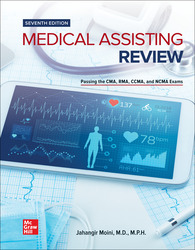 Medical Assisting Review: Passing The CMA, RMA, and CCMA Exams 7th Edition