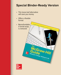looseleaf the mcgraw hill guide writing for college writing for life rh mheducation com McGraw-Hill Textbooks mcgraw hill guide writing for college pdf