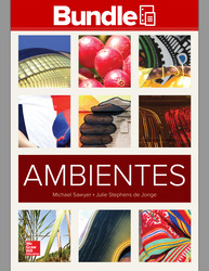 GEN COMBO AMBIENTES;WORKBOOK/LAB MANUAL