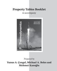 Thermodynamics an engineering approach property tables booklet for thermodynamics an engineering approach fandeluxe Gallery