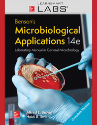Connect with LearnSmart Labs Online Access for Benson's Microbiological Applications, Laboratory Manual in General Microbiology, Complete Version