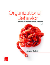 Loose Leaf for Organizational Behavior: A Practical, Problem-Solving Approach 3rd Edition