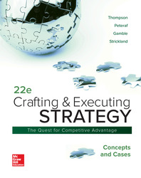 Crafting & Executing Strategy: Concepts and Cases 22nd Edition