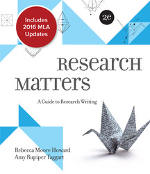 Research Matters MLA 2016 Update