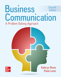 Business Communication: A Problem-Solving Approach 2nd Edition