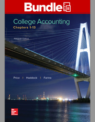 GEN COMBO COLLEGE ACCOUNTING CHAPTER 1-13; CNCT ACCESS CARD COLL ACCTG