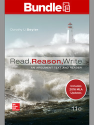 Looseleaf Read, Reason, Write 11e,  MLA 2016 UPDATE with Connect Composition Access Card