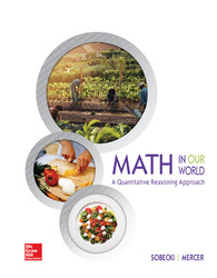 Soft Bound Version for Math In Our World: A Quantitative Literacy Approach