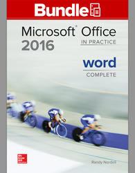 GEN COMBO LL MICROSOFT OFFICE WORD 2016 CMPLT; SIMNET OFFICE 2016 SMBK WORD AC