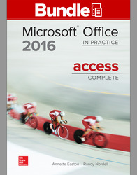 GEN COMBO LL MICROSOFT OFFICE ACCESS 2016 CMPLT; SIMNET OFFICE 2016 SMBK ACCESS
