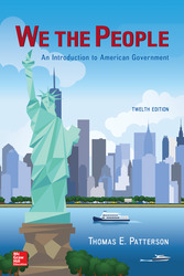 Soft Bound Version for We The People: An Introduction to American Government
