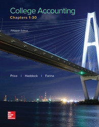 Soft Bound Version for College Accounting Chapters 1-30