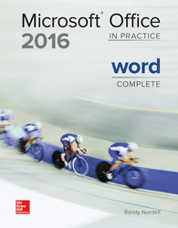 Soft Bound Version for Microsoft Office WORD 2016: In Practice