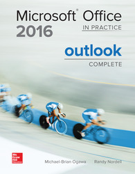 Soft Bound Version for MicroSoft Office OUTLOOK 2016: In Practice