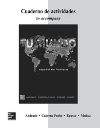 Workbook/Laboratory Manual for Tu mundo
