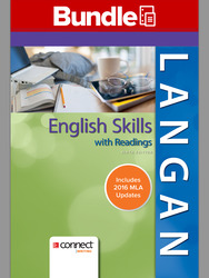 English Skills with Readings 9e Loose-leaf MLA Update and Connect Writing Access Card