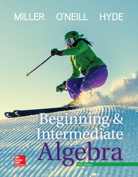Integrated Video and Study Workbook for Beginning and Intermediate Algebra