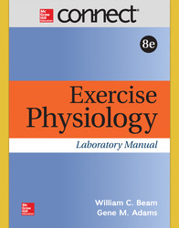 Connect Online Access for Exercise Physiology Laboratory Manual