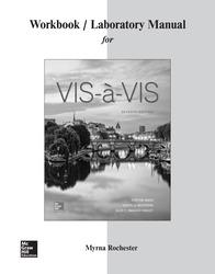 Workbook/Laboratory Manual for Vis-à-vis