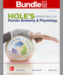 GEN COMBO HOLES LL ESSENTIALS HUMAN ANATOMY & PHYSIOLOGY; CONNECT W/APR PHILS AC