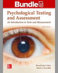 GEN COMBO LOOSELEAF PSYCHOLOGICAL TESTING AND ASSESSMENT; CONNECT ACCESS CARD
