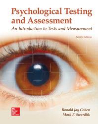 Loose Leaf for Psychological Testing and Assessment