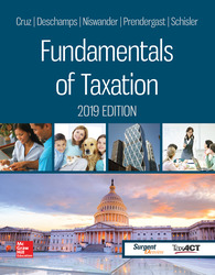 Loose Leaf for Fundamentals of Taxation 2019 Edition