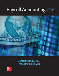 Loose Leaf for Payroll Accounting 2019