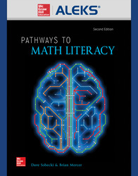 ALEKS 360 Online Access for Pathways to Math Literacy (11 Weeks)