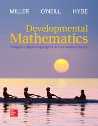 LooseLeaf Developmental Mathematics: Prealgebra, Beginning Algebra, & Intermediate Algebra
