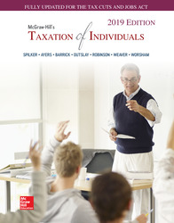 McGraw-Hill's Taxation of Individuals 2019 Edition