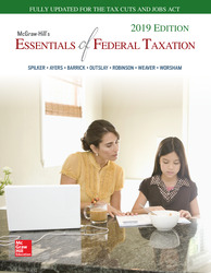 McGraw-Hill's Essentials of Federal Taxation 2019 Edition